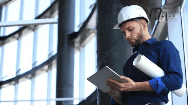 Tablets in de bouw